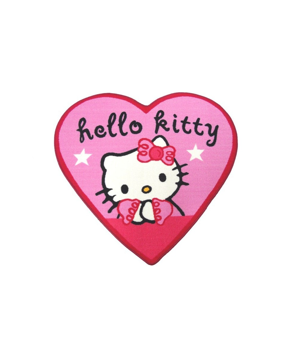 Tappeto Hello kitty cuore...